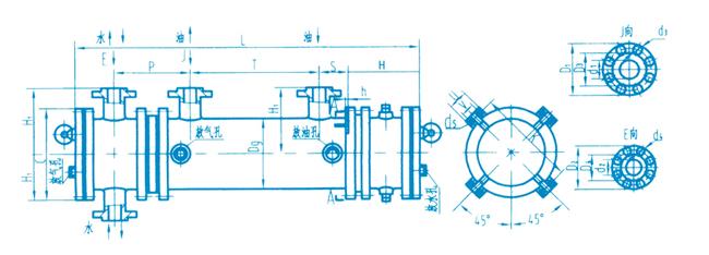 2LQF1L型冷却器示意图